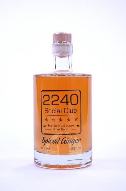 2240 Social Club Spiced Ginger Likeur