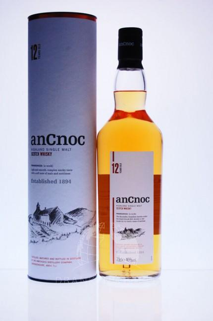 AnCnoc 12 Y Single Malt Whisky