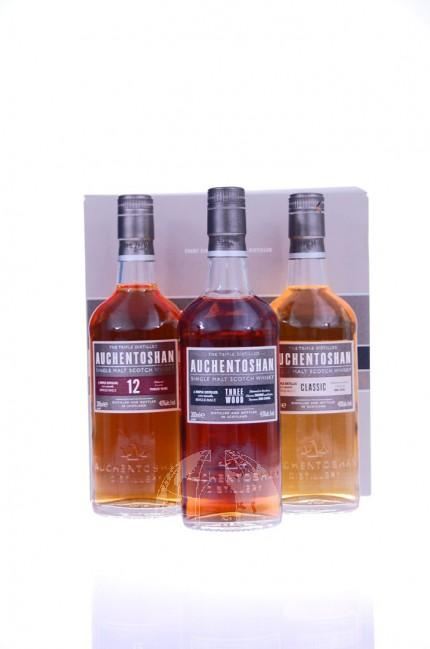 Auchentoshan Trio Single Malt Whisky