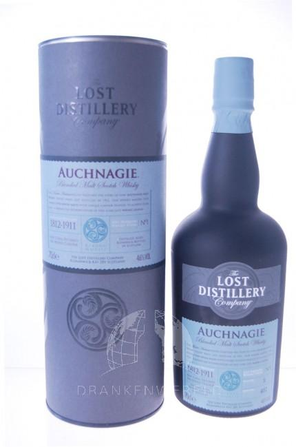 Lost Distillery's Auchnagie Blended Malt Scotch Whisky