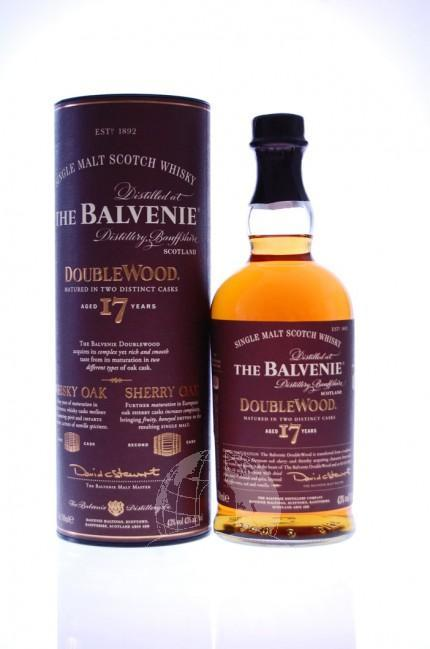 Balvenie Double Wood 17 Years Single Malt Whisky