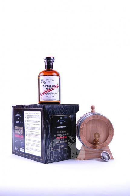Barrel Kit Spring Gin Gentleman's cut