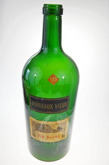 Bordeaux Vieux Vin Blanc lege antieke fles