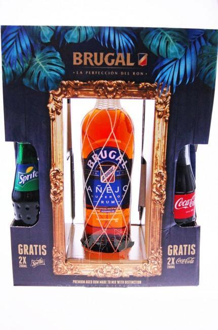 Brugal Anejo Rum Giftbox