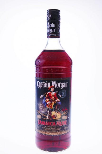 Captain Morgan Black Label Rum Liter