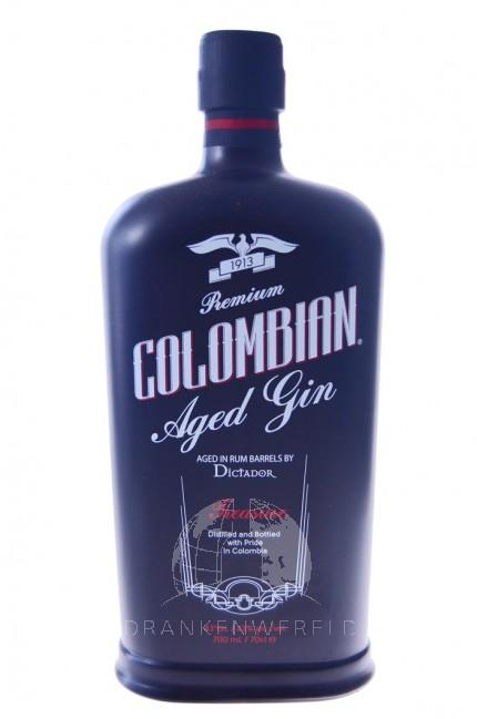 Colombian Adged Premium Dry Gin Treasure