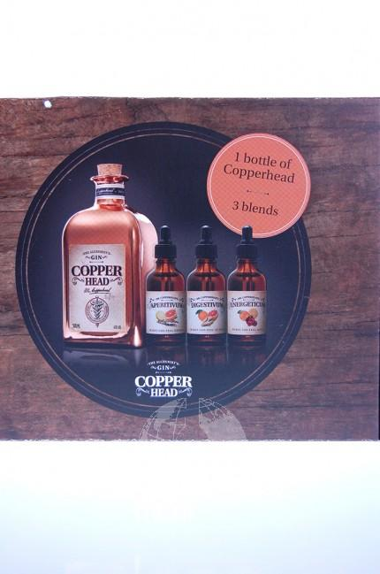 Copperhead Gin Giftset + Bitters