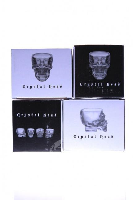 Crystal Head Wodka Shot Glazen
