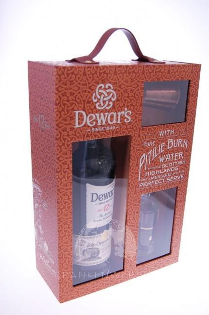 Dewar's 12 Year Old Blend Whisky GiftBox