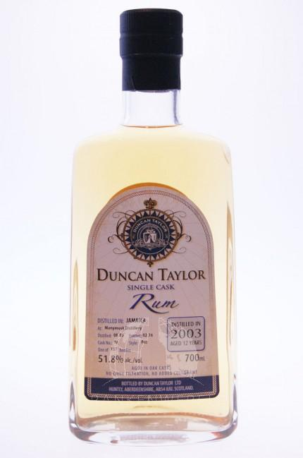 Monymusk Distillery Jamaica Rum 2003 12 Years Single Cask