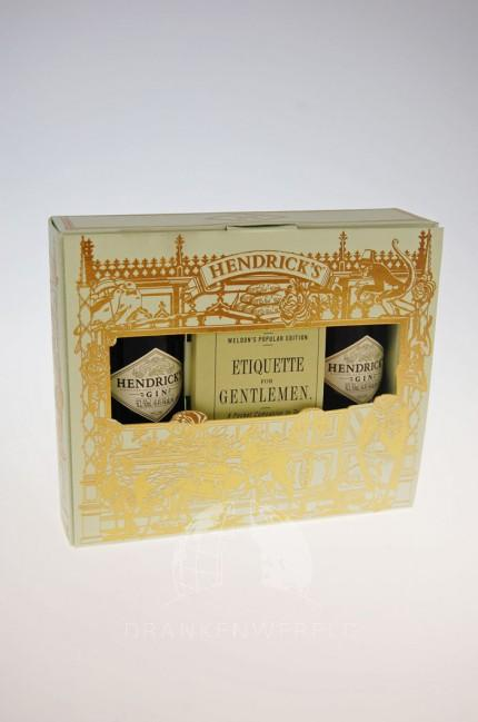 Hendrick's Etiquette For Gentlemen Set Gin