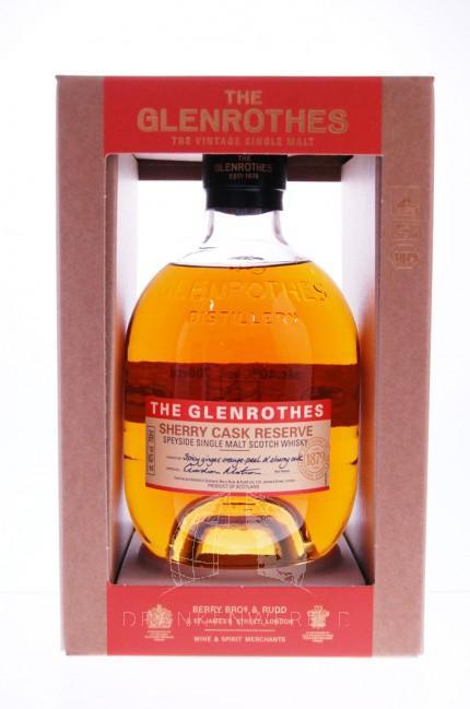 Glenrothes Sherry Cask Single Malt Whisky