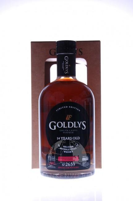 Goldlys Distillers Range Manzanilla Finish 14 Y Single Malt Whisky