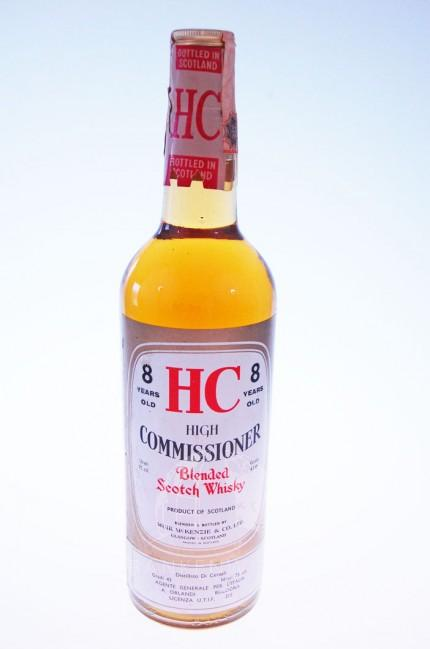 High Commissioner 8 Years Old Whisky