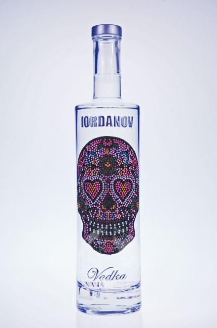 Iordanov Vodka Love Skull
