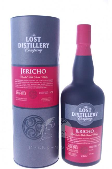 Lost Distillery's Jericho Blended Malt Scotch Whisky