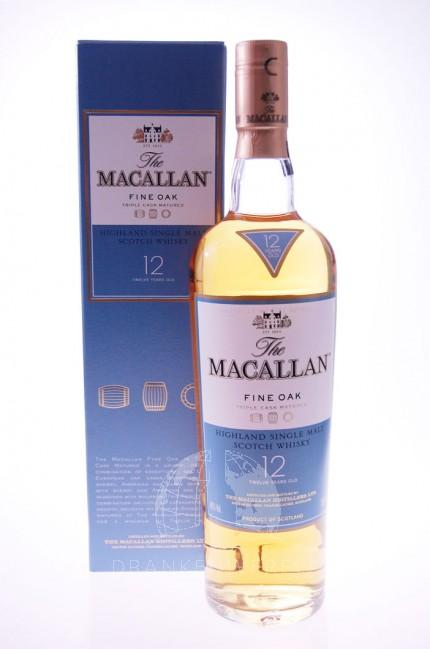 Macallan Fine Oak 12 Year Single Malt Whisky