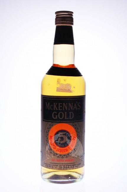 McKenna's Gold Bourbon Whisky 5 Years