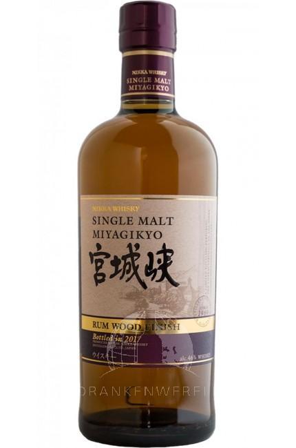 Miyagikyo Rum Finish Single Malt Whisky