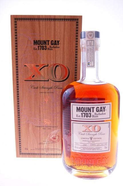 Mount Gay Rum 1703 Cask Strength Limited Edition