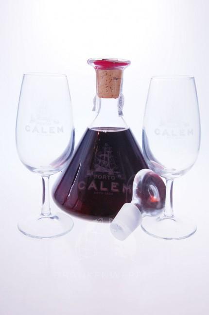 Calem 10 Years Porto Decanter + Glazen