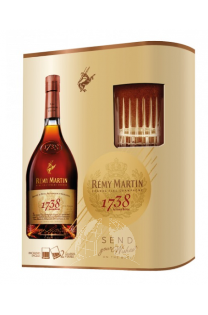 Rémy Martin Accord Royal 1738 Cognac Giftset