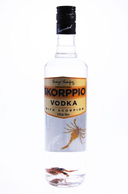 Skorppio Vodka Met Schorpion