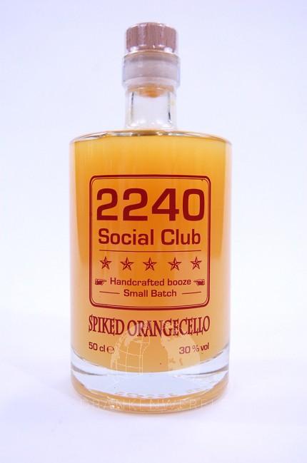 2240 Social Club Spiked Orangecello Likeur