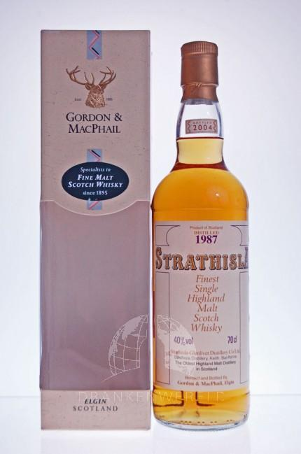 Strathisla Single Malt Whisky 1987