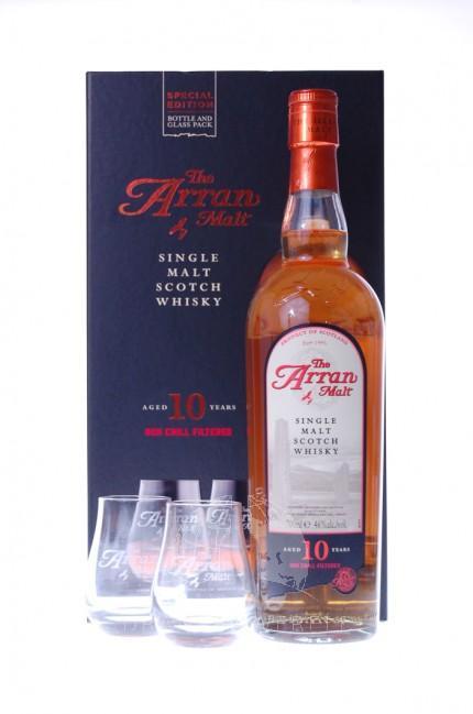Arran 10 Years Giftpack Single Malt Whisky