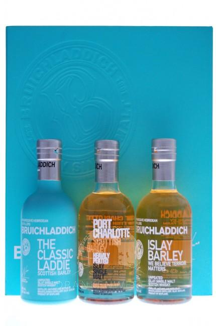 Bruichladdich Single Malt Whisky Tri-pack