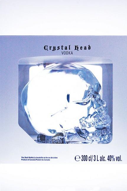 Crystal Head Wodka XXL 3 Liter