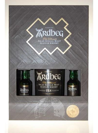 Ardbeg Ten Single Malt Whisky Exploration Pack