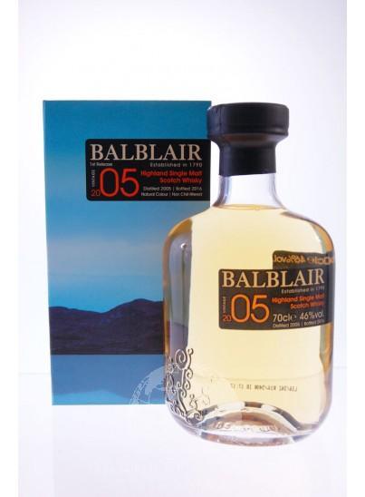 Balblair 2005 Single Malt Whisky