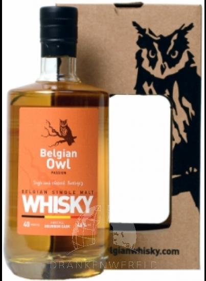 Belgian Owl Single Malt Passion Whisky