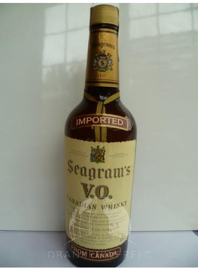 Seagram's VO Canadian Single Malt Whisky 1978