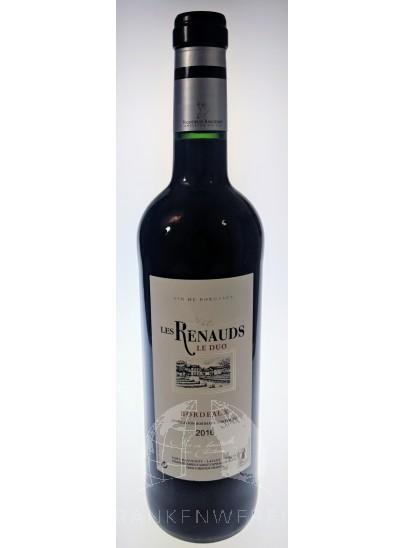 Château Les Renauds Le Duo 2016 Rode Wijn