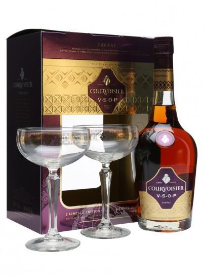 Courvoisier VSOP Cognac Retro Giftset