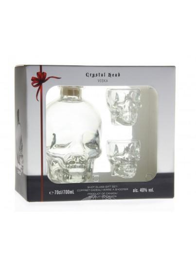 Crystal Head Wodka Giftset Shotglazen