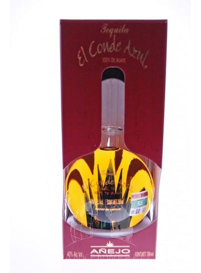 El Conde Azul Tequila Anejo