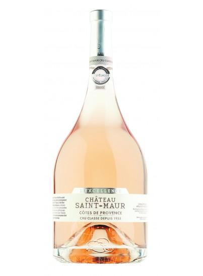 Double Magnum Chateau Saint-Maur L'excellence Cru Classé Rosé 300 Cl