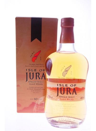 Isle Of Jura 10 Y Yellow Longitudinal Single Malt Whisky