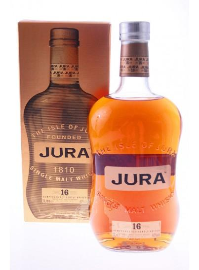 Isle Of Jura 1987 16 Y Rood Longitudinal Label Single Malt Whisky