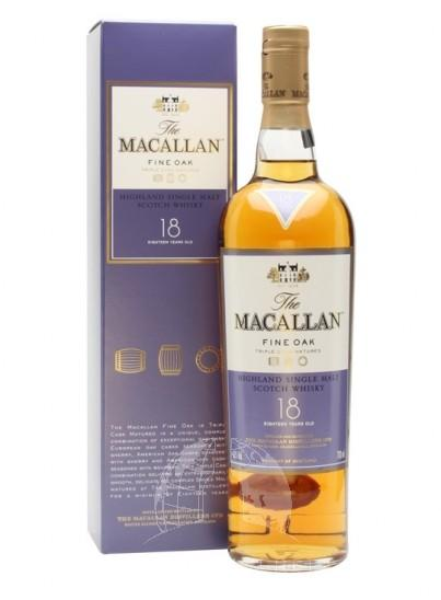 Macallan Fine Oak 18 Years Single Malt Whisky