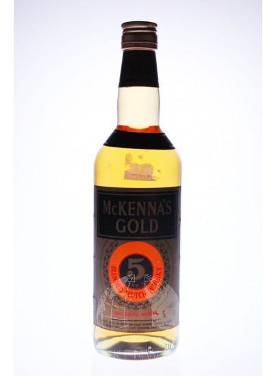 McKenna's Gold Bourbon Whisky 5 Years