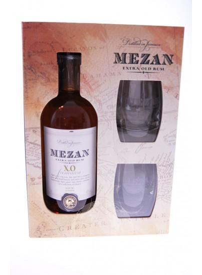 Mezan Jamaica XO Giftset + 2 Glazen