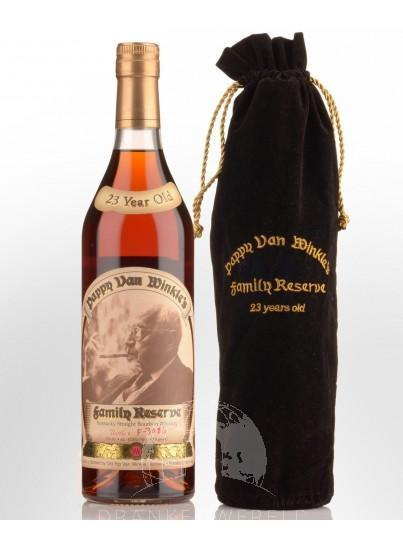 Pappy van Winkle's Family Reserve 23 Years Bourbon Whiskey 2 Second Release