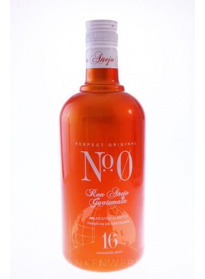 No 0 Anejo Rum Guatemala