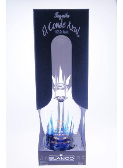 El Conde Azul Tequila Blanco