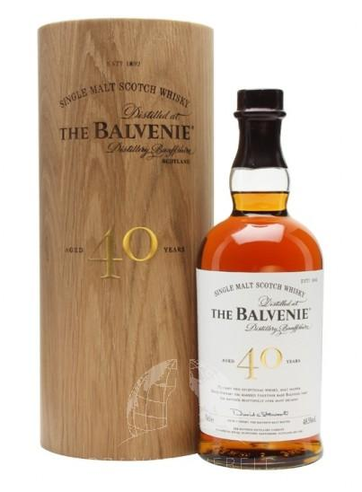 The Balvenie 40 Years Single Malt Whisky